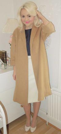 Vogue 1083 Camel Coat